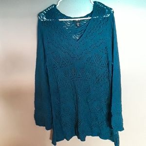 style & co lace sweater